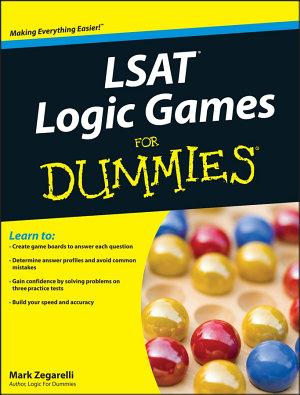 LSAT Logic Games For Dummies PDF