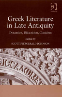 Greek Literature in Late Antiquity PDF