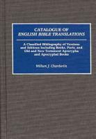 Catalogue of English Bible Translations PDF