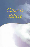 Came to Believe Trade Edition PDF