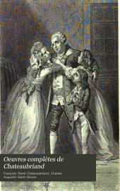 Étude sur Chateaubriand, par m. Sainte-Beuve. Essai sur les révolutions anciennes et modernes