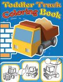 Toddler Truck Coloring Book Book PDF