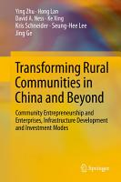 Transforming Rural Communities in China and Beyond PDF