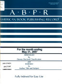American Book Publishing Record PDF