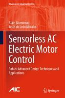 Sensorless AC Electric Motor Control PDF