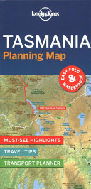 Lonely Planet Tasmania Planning Map