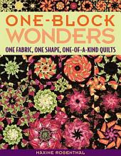 One Block Wonders: One Fabric, One Shape, One-of-a-Kind Quilts