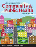 An Introduction to Community   Public Health PDF