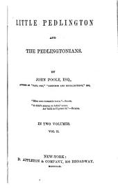 Little Pedlington and the Pedlingtonians: Volume 2