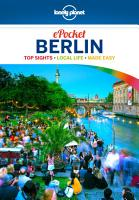 Lonely Planet Pocket Berlin PDF