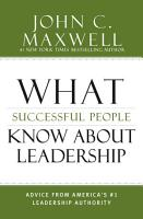 What Successful People Know about Leadership PDF