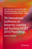 7th International Conference on University Learning and Teaching  InCULT 2014  Proceedings PDF
