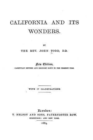 California and Its Wonders PDF