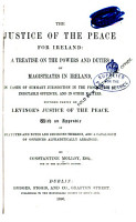 The Justice of the Peace for Ireland PDF