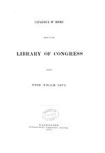 Catalogue of Books Added to the Library of Congress  from Dec  1      to Dec  1      PDF