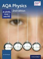 AQA Physics  A Level Year 1 and AS PDF