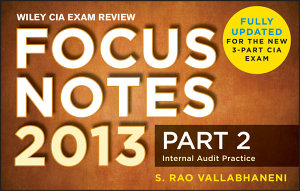 Wiley Cia Exam Review Focus Notes Internal Audit Practice Book PDF