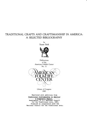 Publications of the American Folklife Center