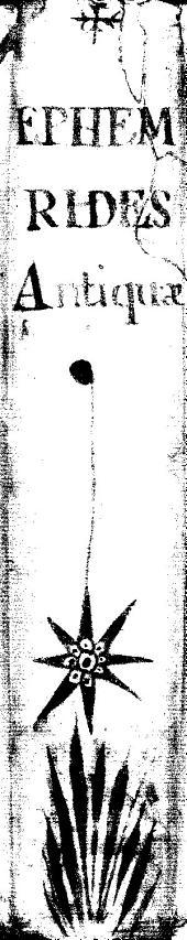 Ephemerides astronomicae ab anno 1494 ad annum 1506