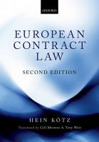 European Contract Law PDF