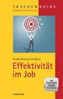 Effektivit  t im Job PDF