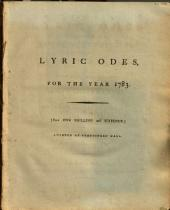More Lyric Odes to the Royal Academicians