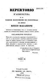 Repertorio Di Agricoltura Pratica E Di Economia Domestica...
