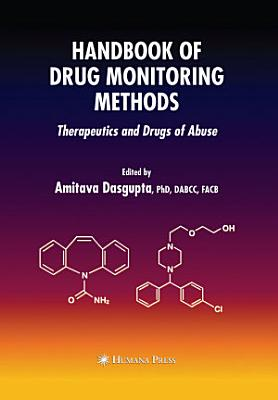 Handbook of Drug Monitoring Methods