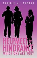 Helpmeet Or Hindrance PDF