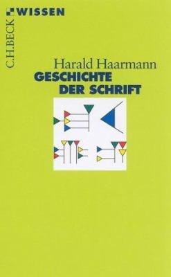Geschichte der Schrift PDF