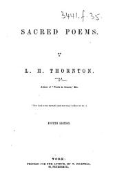 Sacred Poems ... Fourth edition