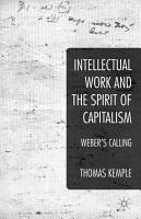 Intellectual Work and the Spirit of Capitalism PDF