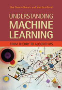 Understanding Machine Learning