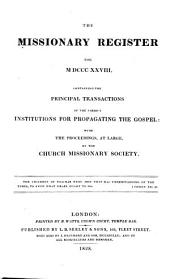 Missionary Register: Volume 16