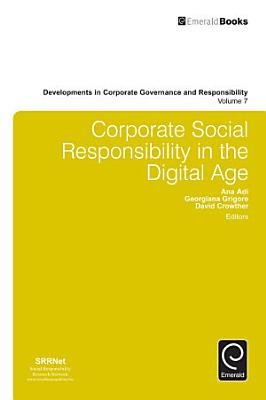 Corporate Social Responsibility in the Digital Age PDF