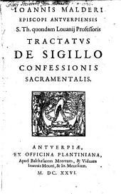 Tractatus de Sigillo confessionis Sacramentalis