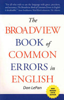The Broadview Book of Common Errors in English   Fifth Edition PDF