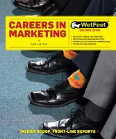 Careers in Marketing PDF