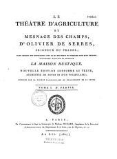 Le théâtre d'agriculture et mesnage des champs