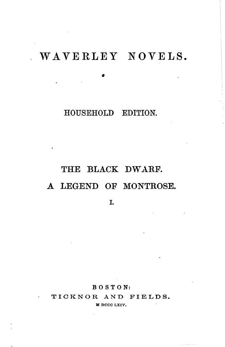 Waverly Novels: The abbot