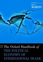The Oxford Handbook of the Political Economy of International Trade PDF