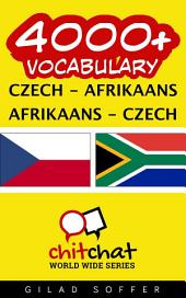 4000+ Czech - Afrikaans Afrikaans - Czech Vocabulary