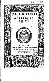 Petronii Arbitri Satyricon
