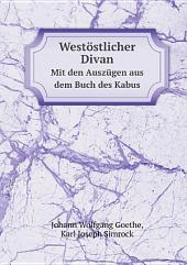 West?stlicher Divan