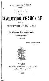 Histoire de la Révolution Française dans le Département du Gard: Volume3