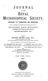 Journal of the Royal Microscopical Society: Volume 7