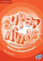 Super Minds American English Level 4 Teacher s Resource Book with Audio CD PDF