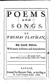 Poems and Songs,