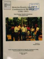 memorias reunion annual de coordinacion de prosefor PDF