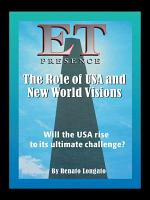 ET Presence The Role of the USA and New World Visions PDF